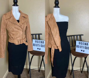 Suede Tan Jacket