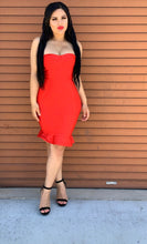 Load image into Gallery viewer, Emma Bandage Dress - Red