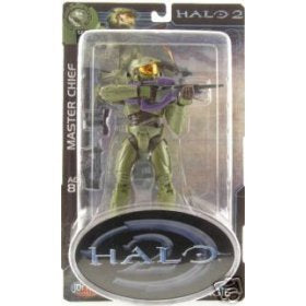 Halo 2 Action Figure Series 4 Master Chief (2) With New Head Sculpt