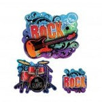 Rock Star Cutout Decorations (30Pc)