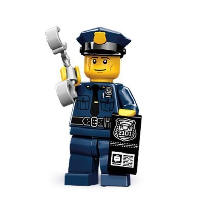 Lego 71000 Series 9 Minifigure Police Man