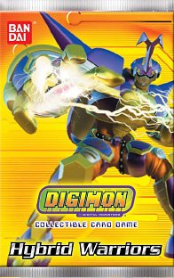 Digimon Collectible Card Game Hybrid Warriors Booster Pack