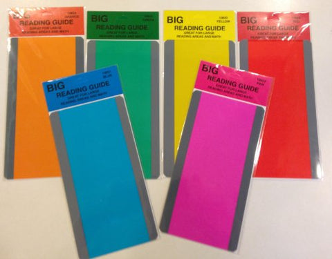 Guided Reading Strips Asst. Set Of 6 (Small Paragraph Size)