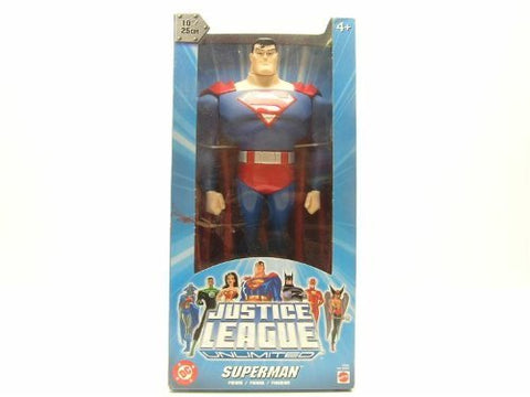 Superman Justice League Unlimited 10 Figure Dc Animated Mattel Jlu New Sealed