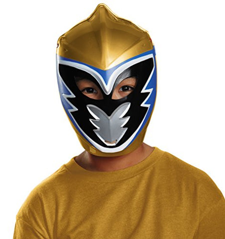 Disguise Gold Ranger Dino Charge Vacuform Mask Costume