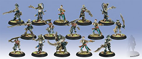 Warmachine Cryx Revenant Crew Of The Atrementous Unit Box With 3 Attachments