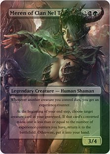 Meren Of Clan Nel Toth - Casual Play Only - Customs Altered Art Foil