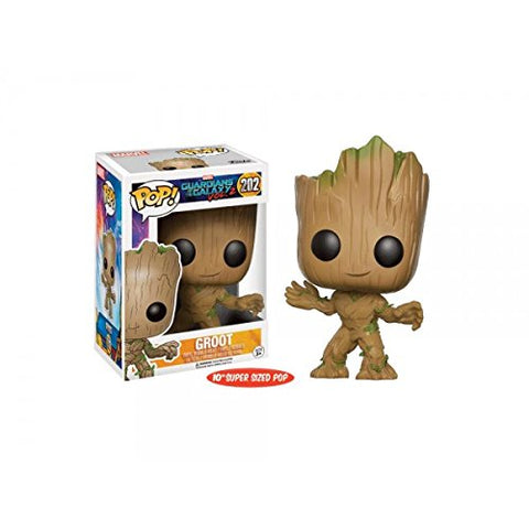 Funko Pop Guardians Of The Galaxy Vol.2 (202) Exclusive Life Size Groot Pop