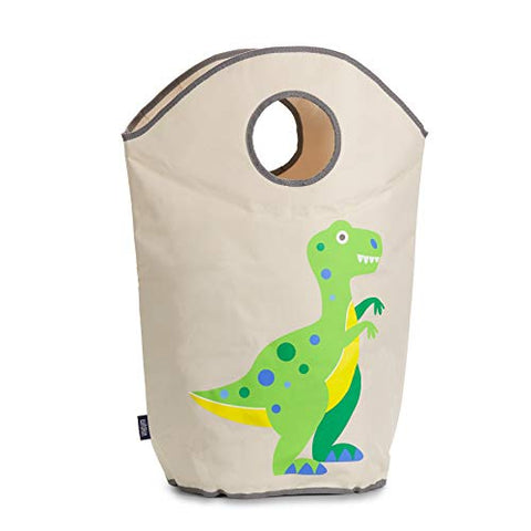 Wildkin Laundry Hamper, Features Mesh Bottom And Two Top Carrying Handles, Perfect For Promoting Organization, Coordinates With Other Room Dcor, Olive Kids Design  Dinosaur Land