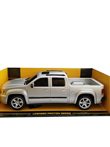 Gmc Sierra Denali Pickup Truck 1:24 Friction Series Gray