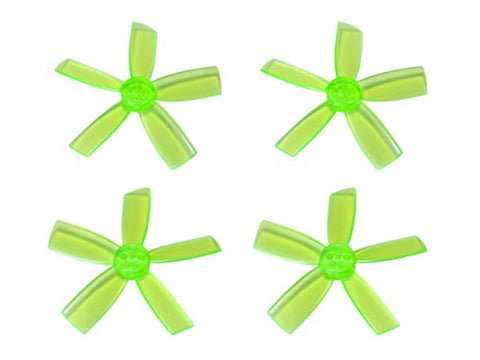 Microheli Plastic 5-Blade Propeller 2035 Cw/Ccw (Green) - Blade Torrent 110 Fpv