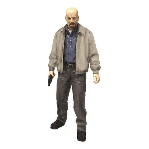 Mezco Toys, Breaking Bad, Heisenberg (Walter White) (Gray Jacket), 6 Inches