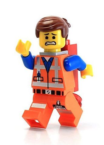 Lego The Movie Loose Minifigure Emmet With Piece Of Resistance [Grin]