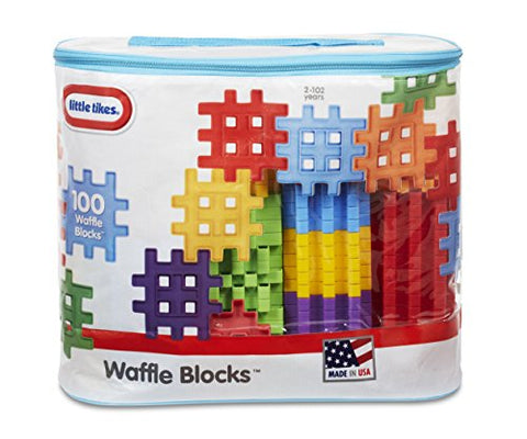 Little Tikes Waffle Blocks Bag (100 Piece)