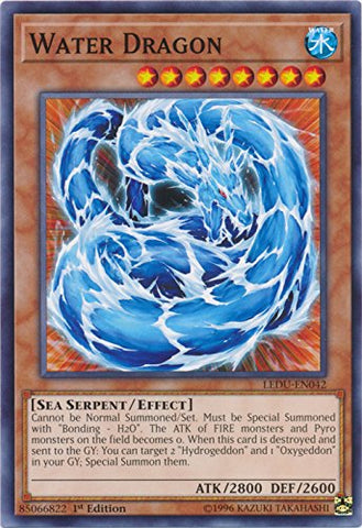 Water Dragon - Ledu-En042 - Common - 1St Edition - Legendary Duelists (1St Edition)