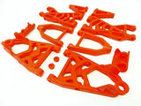 Rovan Nylon Upgraded Suspension Arm Kit (Red) Fits Hpi Baja 5B 5T 5Sc King Motor