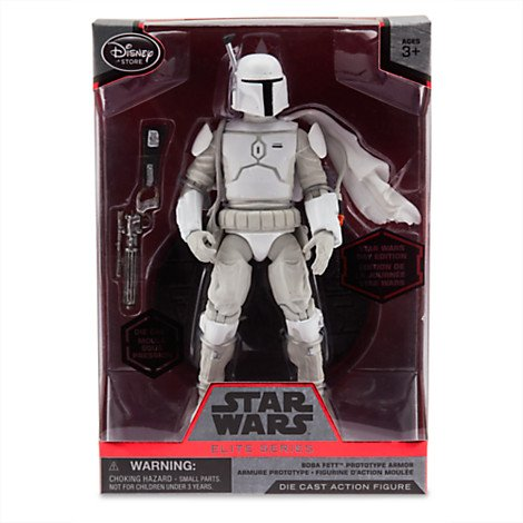 Disney Star Wars Elite Series Boba Fett Prototype Armor Diecast Figure