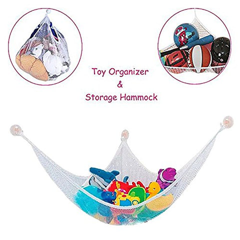 Etechwork Jumbo Organize Stuffed Animals Toys Hammock | Large (72X48 Inches) Toys Organizer For Children' Toy | Multi-Use Toys Storage Nets