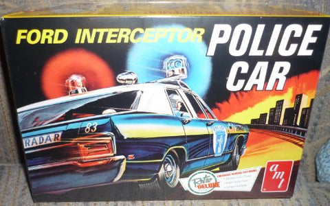 Amt 1/25 '70 Ford Galaxie Interceptor Police Car