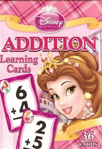 Disney Princess Addition Learning/Flash Cards (Lite Pink Box)