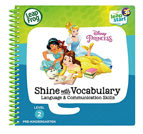 Leapfrog Leapstart 3D Disney Princess Shine With Vocabulary Book