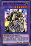 Yugioh Promo Elemental Hero Gaia Super Rare Ct08