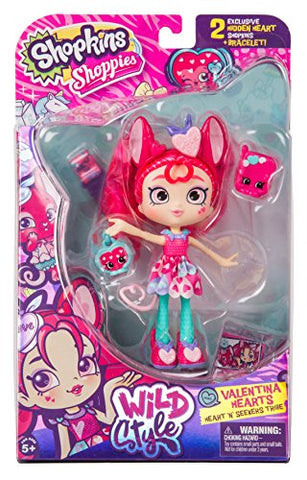 Shopkins Season 9 Wild Style Shoppies - Valentina Hearts