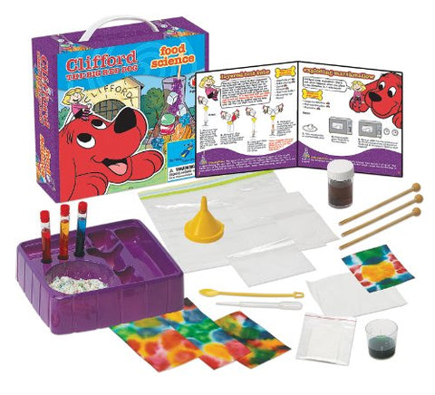 Young Scientist Club Clifford The Big Red Dog Food Science Kit