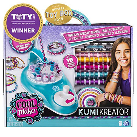 Cool Maker Kumi Kreator Frienship Bracelet Maker Craft Kit