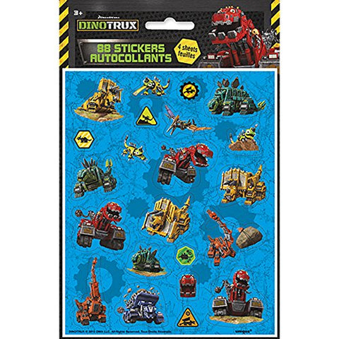 Dinotrux Sticker Sheets [4 Per Pack]