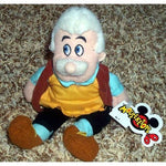 Retired Disney Pinocchio Master Craftsman And Carpenter Father Geppetto 8 Plush Bean Bag Doll