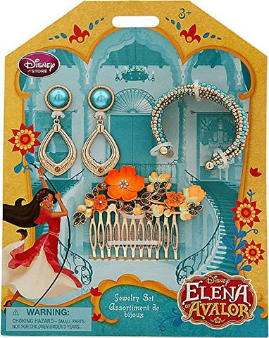 Disney Elena Of Avalor Elena Exclusive Jewelry Set