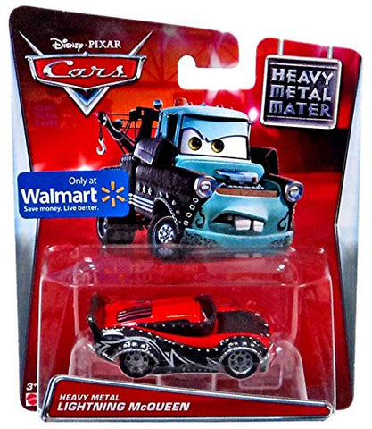 Disney/Pixar Cars Heavy Metal Lightning Mcqueen Die-Cast Car 1:55 Scale
