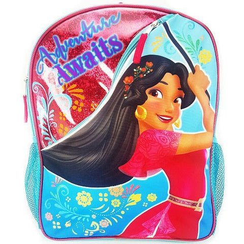 Disney Princess Elena Adventure Awaits Backpack With Two Side Mesh Pockets
