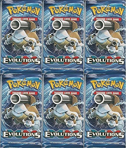 Pokemon Tcg: Xy Evolutions Sealed Booster