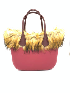 Faux Fur Bag Accessory