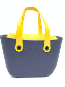 Be Me Bag Handles - Yellow Button