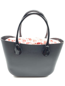 Be Me Bag Handles - Patent Leather Black