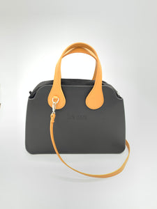 Be Me Bag Handles - Brown Short Handles with Shoulder Strap