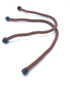 Be Me Bag Handles - Dark Brown Ropes