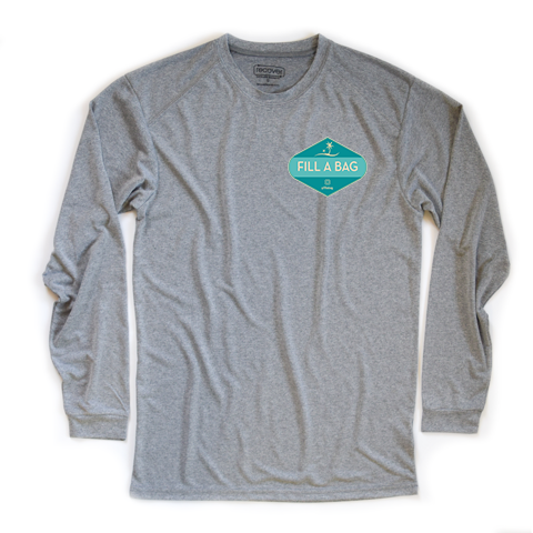 FAB 100% Recycled Sport Long Sleeve T-Shirt - Key Biscayne Living