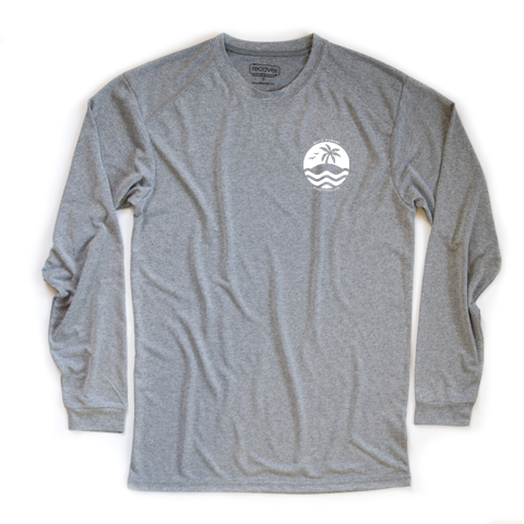 Good Humans Don't Pollute 100% Recycled Sport Long Sleeve T-Shirt - Key Biscayne Living
