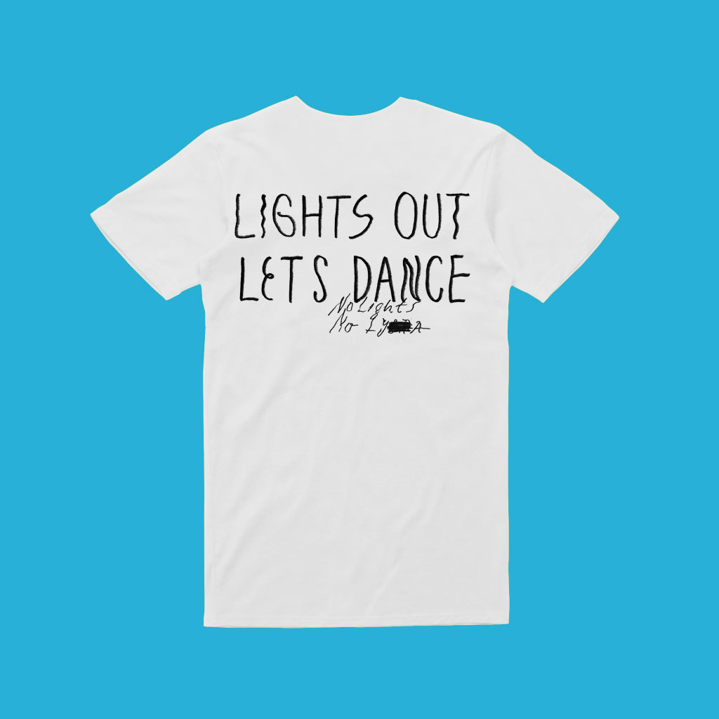 Lights out b/w / Unisex White T
