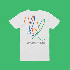 Lights out colour / Unisex White T