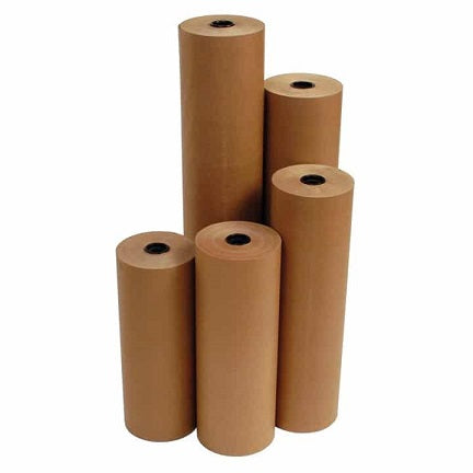 "Kraft Paper Rolls 8"" OD Recycled 