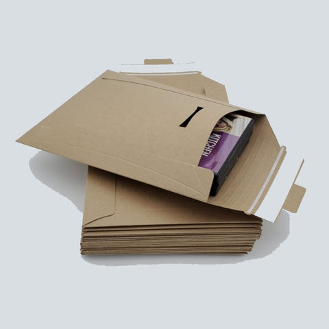 Kraft Rigid / Stay Flat Mailers