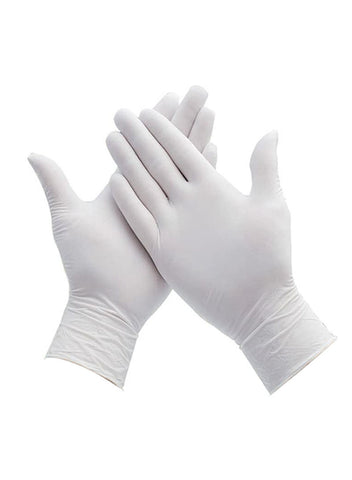 Vinyl Gloves 4 Mil White (100 pk)
