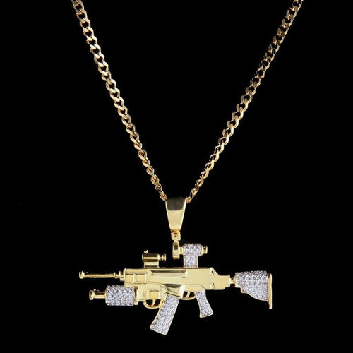 Collar Golden RifleAllpify