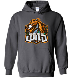 Born To Be Wild Unisex Pullover Hoodie - Spangle