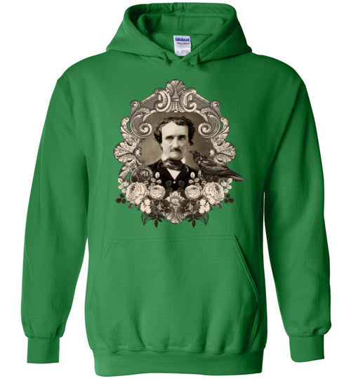 Edgar Allen Poe Heavy Blend Hoodie - Spangle